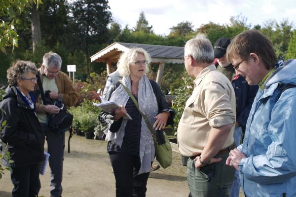 På besøg i Thymes planteskole ved Køge.