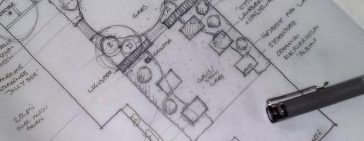 en haveskitse er en hurtig haveplan