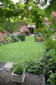 Have i Rønne efter haveskitse af Frank Kirkegaard