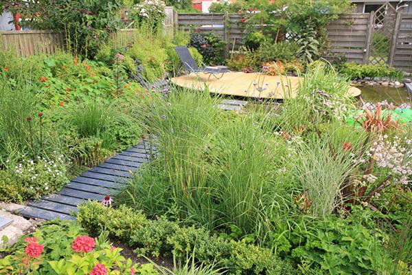 Havearkitekt Frank Kirkegaards egen have