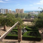 Udsigt over Malaga