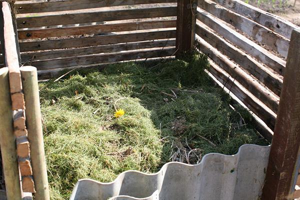 kompostbeholder af genbrugslægter